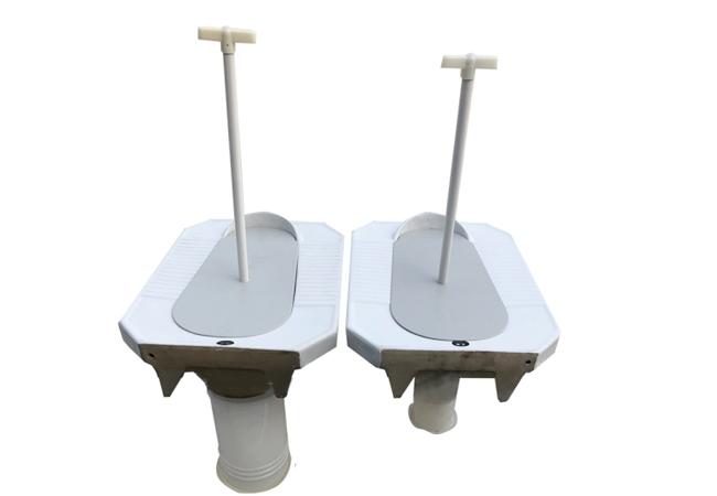 陶瓷蹲便器(配套隔味装置)